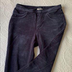 Style & Co Navy Corduroy Legging